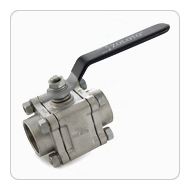 Stainless Steel Three Piece Design Ball Valve Class-150