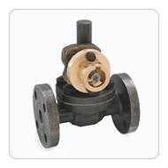 Cast Steel Parallel Slide Blow Off Valve (Flanged)